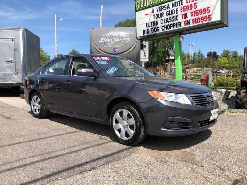 2010 Kia Optima for sale at Giguere Auto Wholesalers in Tilton NH