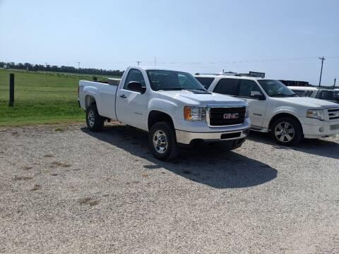 2013 GMC Sierra 2500HD for sale at Halstead Motors LLC in Halstead KS