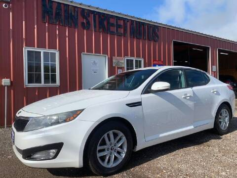 2012 Kia Optima for sale at Main Street Autos Sales and Service LLC in Whitehouse TX
