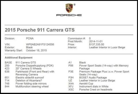 2015 Porsche 911 for sale at RAC Performance in Carrollton TX