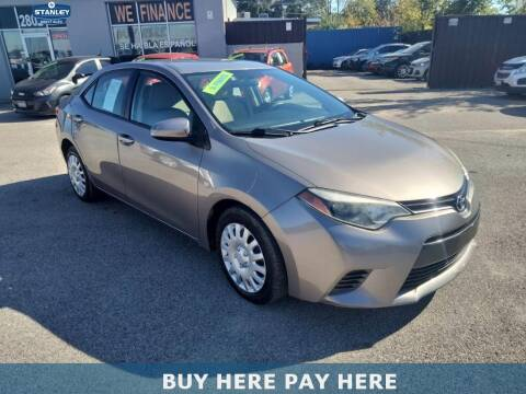 2015 Toyota Corolla for sale at Stanley Direct Auto in Mesquite TX