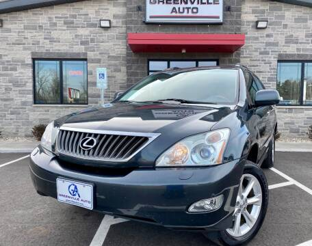 2008 Lexus RX 350 for sale at GREENVILLE AUTO & RV in Greenville WI