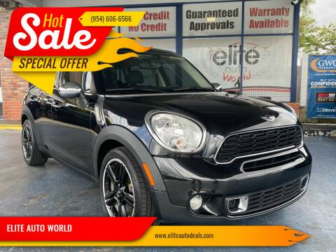 2013 MINI Countryman for sale at ELITE AUTO WORLD in Fort Lauderdale FL