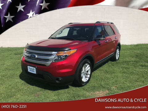 2012 Ford Explorer for sale at Dawsons Auto & Cycle in Glen Burnie MD