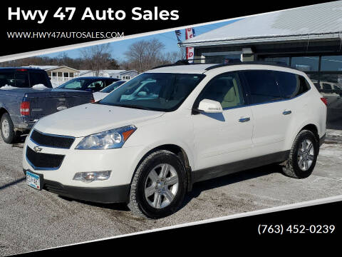 2011 Chevrolet Traverse for sale at Hwy 47 Auto Sales in Saint Francis MN