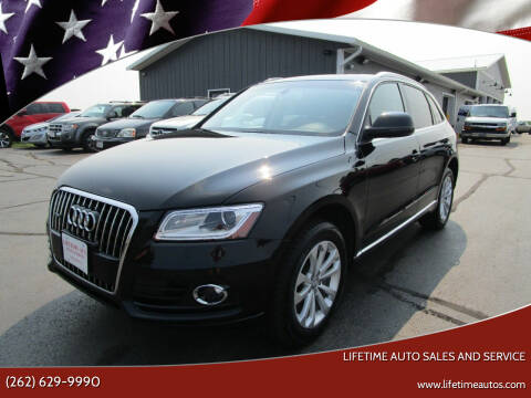 2014 Audi Q5 for sale at Lifetime Auto Sales and Service in West Bend WI