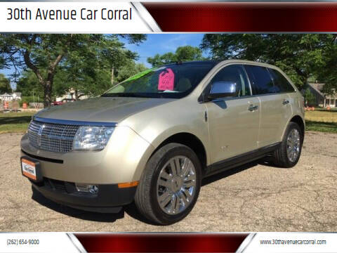 2010 Lincoln MKX for sale at 30th Avenue Car Corral in Kenosha WI