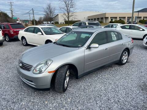 2003 Infiniti G35 for sale at Bailey's Auto Sales in Cloverdale VA
