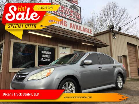 2010 Subaru Legacy for sale at Oscar's Truck Center, LLC in Houston TX