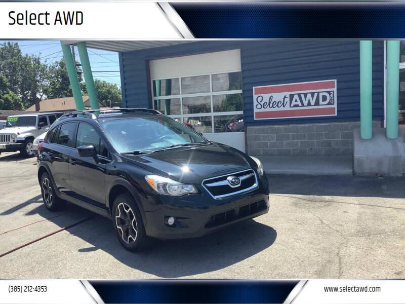 2015 Subaru XV Crosstrek for sale at Select AWD in Provo UT