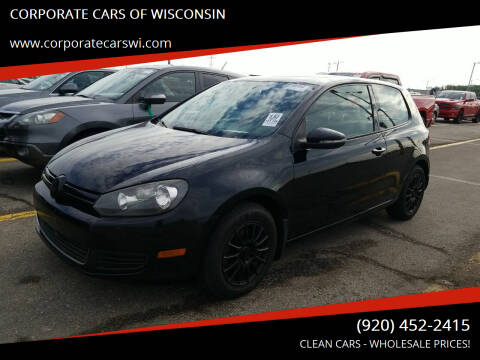 2011 Volkswagen Golf for sale at CORPORATE CARS OF WISCONSIN - DAVES AUTO SALES OF SHEBOYGAN in Sheboygan WI