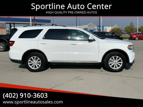 2019 Dodge Durango for sale at Sportline Auto Center in Columbus NE