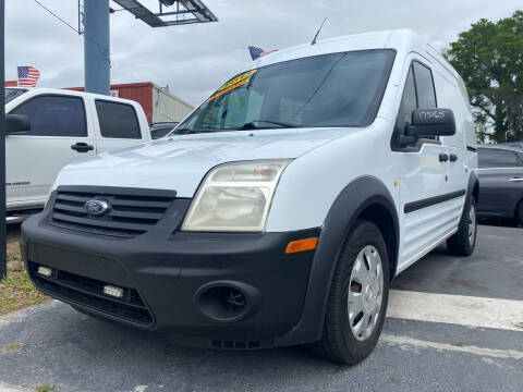 2013 Ford Transit Connect for sale at LATINOS MOTOR OF ORLANDO in Orlando FL