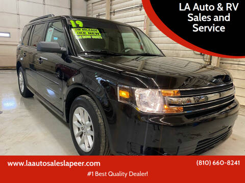 2019 Ford Flex for sale at LA Auto & RV Sales and Service in Lapeer MI