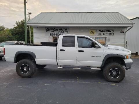 2003 Dodge Ram Pickup 2500 for sale at STATE LINE AUTO SALES in New Church VA