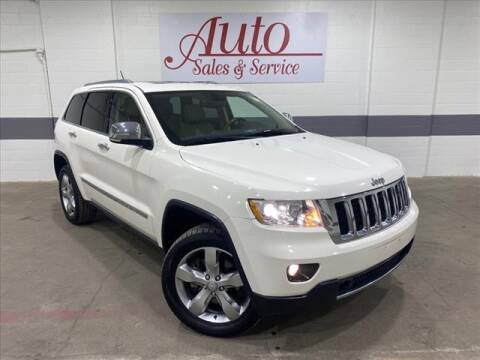 2011 Jeep Grand Cherokee for sale at Auto Sales & Service Wholesale in Indianapolis IN