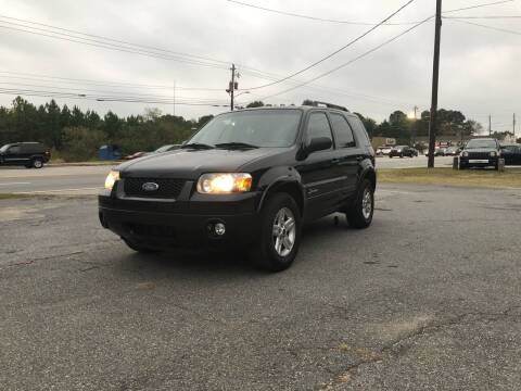 2007 Ford Escape Hybrid for sale at ATLANTA AUTO WAY in Duluth GA