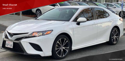 2018 Toyota Camry for sale at Steel Chariot in San Jose CA