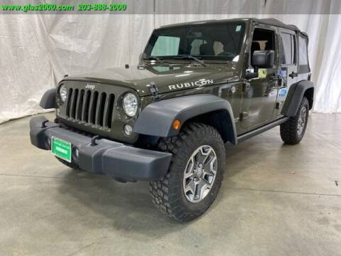 2016 Jeep Wrangler Unlimited for sale at Green Light Auto Sales LLC in Bethany CT