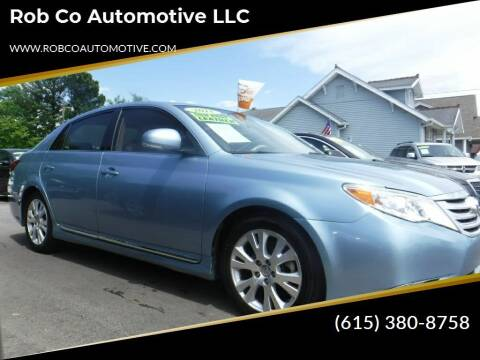 2011 Toyota Avalon for sale at Rob Co Automotive LLC in Springfield TN