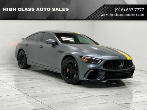 2019 Mercedes-Benz AMG GT for sale at HIGH CLASS AUTO SALES in Rancho Cordova CA