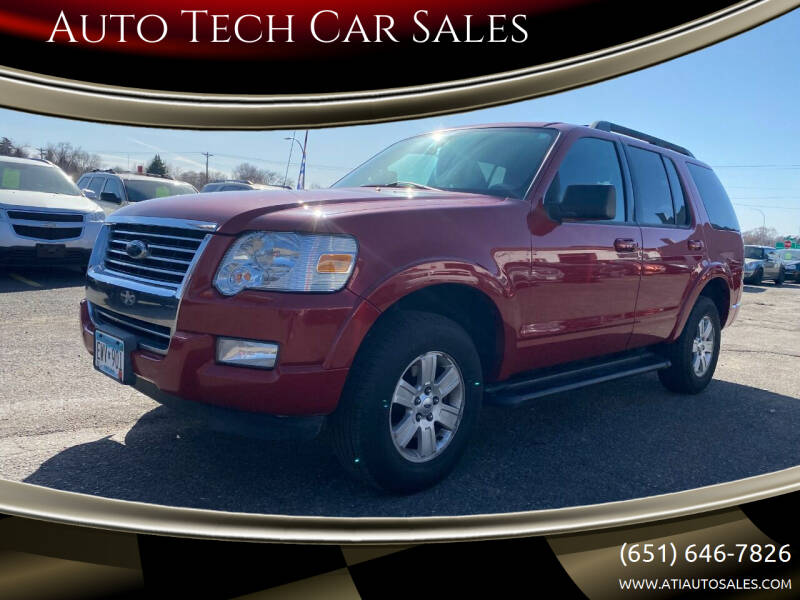 2010 Ford Explorer for sale at Auto Tech Car Sales in Saint Paul MN