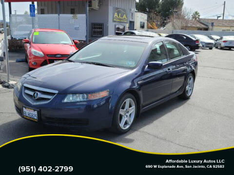 2006 Acura TL for sale at Affordable Luxury Autos LLC in San Jacinto CA
