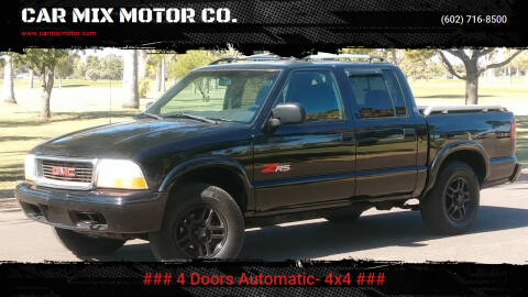 2003 GMC Sonoma for sale at CAR MIX MOTOR CO. in Phoenix AZ