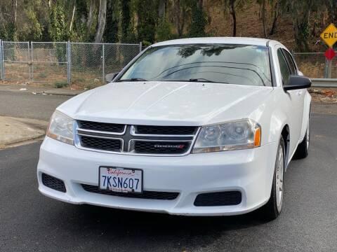 2014 Dodge Avenger for sale at ZaZa Motors in San Leandro CA