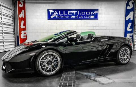 2010 Lamborghini Gallardo for sale at Falleti Motors, Inc.  est. 1976 in Batavia NY