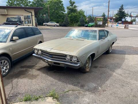 1969 Chevrolet Chevelle for sale at Fast Vintage in Wheat Ridge CO