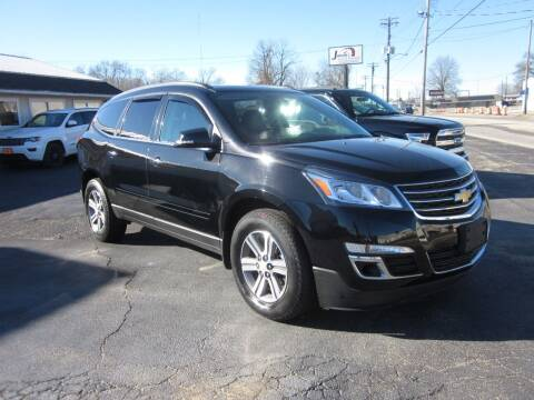 2017 Chevrolet Traverse for sale at JANSEN'S AUTO SALES MIDWEST TOPPERS & ACCESSORIES in Effingham IL