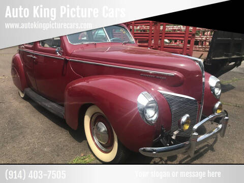 1940 Mercury Sedan for sale at Auto King Picture Cars in Westchester County NY