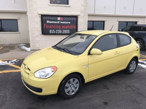 2008 Hyundai Accent for sale at Diamond Motors in Pecatonica IL