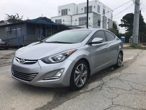 2015 Hyundai Elantra for sale at Saipan Auto Sales in Houston TX