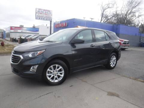 2018 Chevrolet Equinox for sale at City Motors Auto Sale LLC in Redford MI
