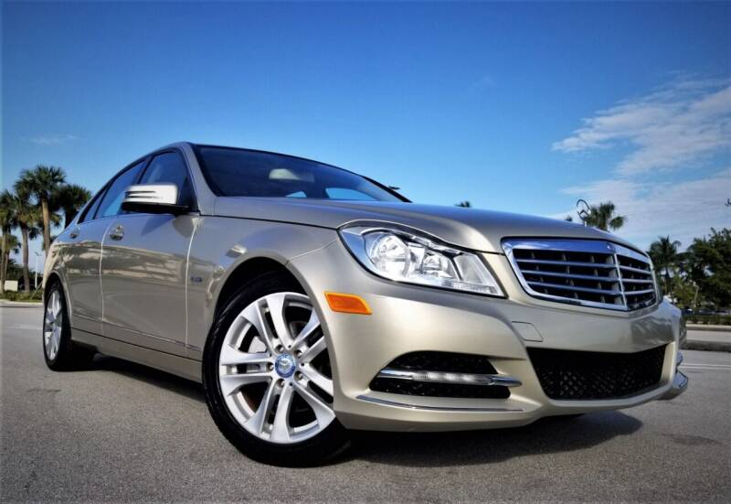 2012 Mercedes-Benz C-Class for sale at Progressive Motors in Pompano Beach FL