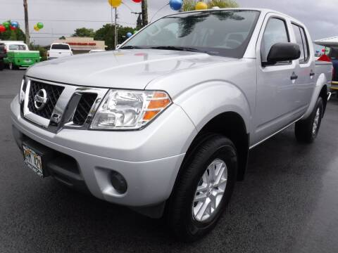 2018 Nissan Frontier for sale at PONO'S USED CARS in Hilo HI