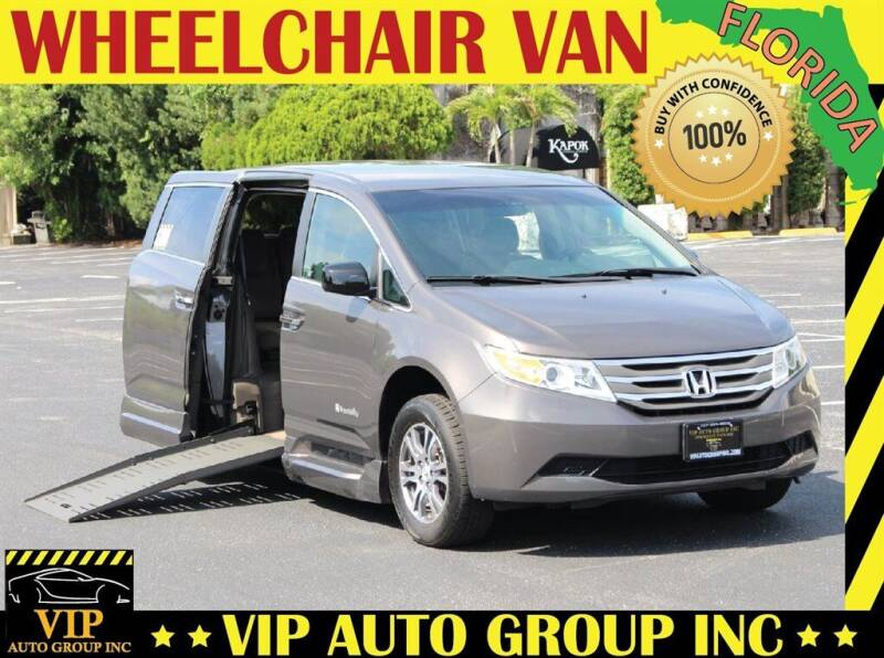 2011 Honda Odyssey for sale at VIP Auto Group in Clearwater FL