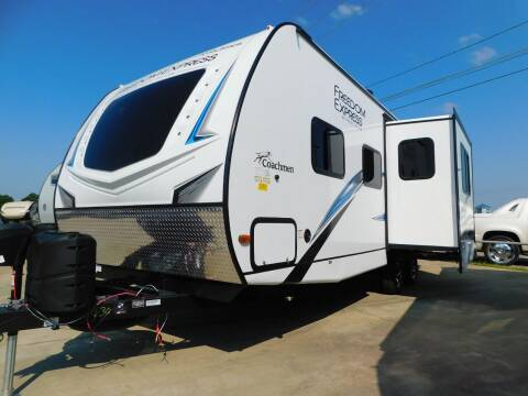 2021 Coachmen Freedom Express 248RBS for sale at Motorsports Unlimited in McAlester OK