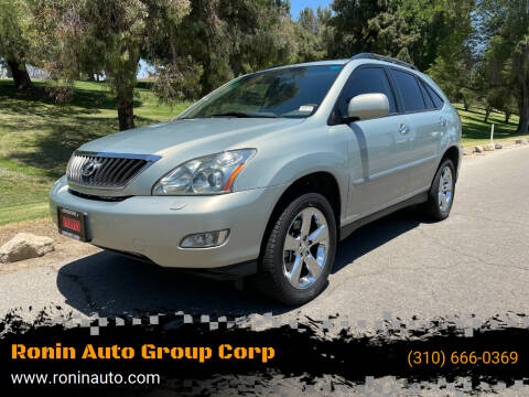 2008 Lexus RX 350 for sale at Ronin Auto Group Corp in Sun Valley CA