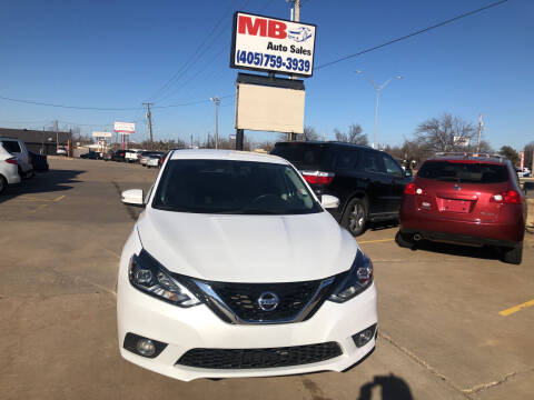 2016 Nissan Sentra for sale at MB Auto Sales in Oklahoma City OK