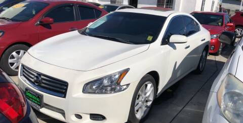 2012 Nissan Maxima for sale at Express Auto Sales in Los Angeles CA