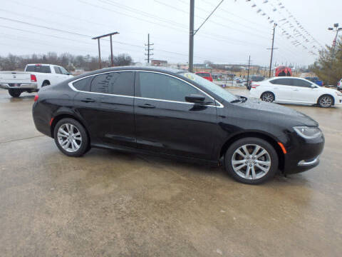 2015 Chrysler 200 for sale at BLACKWELL MOTORS INC in Farmington MO