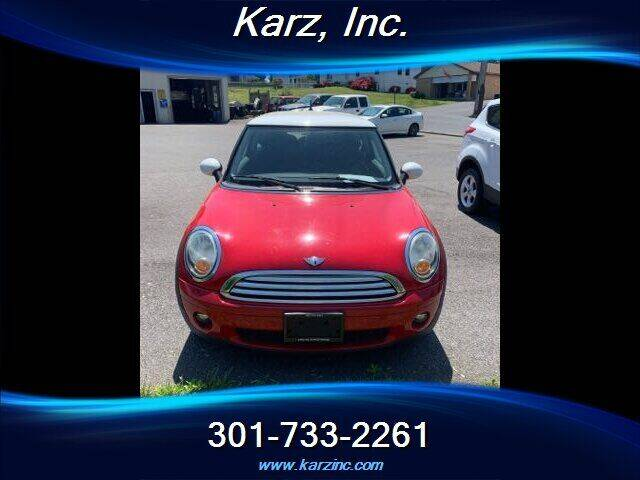 2010 MINI Cooper for sale at Karz INC in Funkstown MD