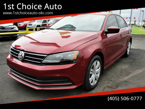 2017 Volkswagen Jetta for sale at 1st Choice Auto L.L.C in Oklahoma City OK
