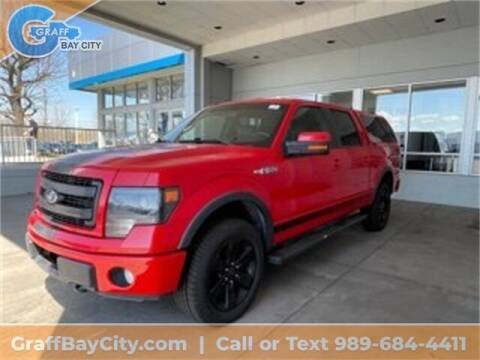 2013 Ford F-150 for sale at GRAFF CHEVROLET BAY CITY in Bay City MI