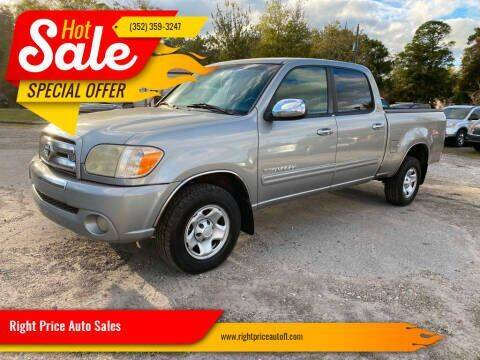 2005 Toyota Tundra for sale at Right Price Auto Sales in Waldo FL