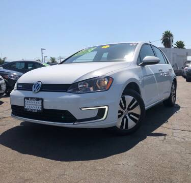 2016 Volkswagen e-Golf for sale at LUGO AUTO GROUP in Sacramento CA