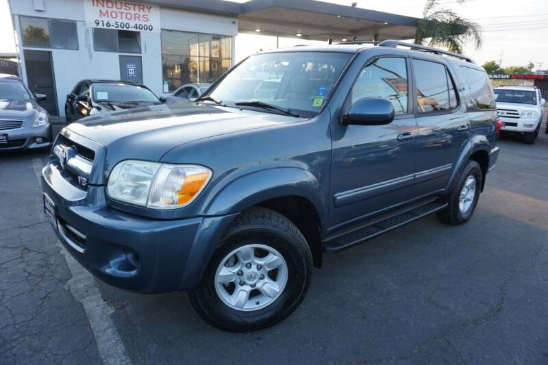 2006 Toyota Sequoia for sale at Industry Motors in Sacramento CA